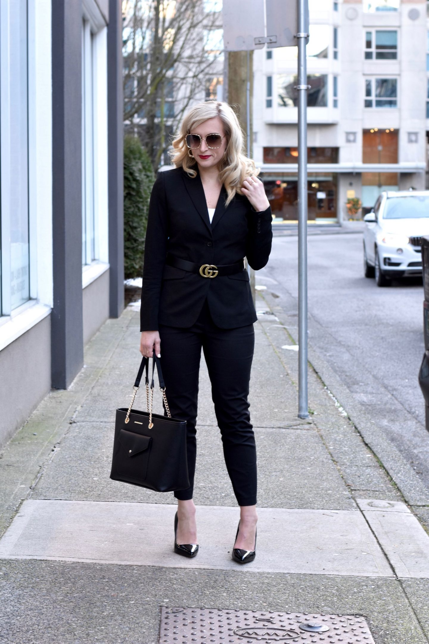 pant suit for young working women