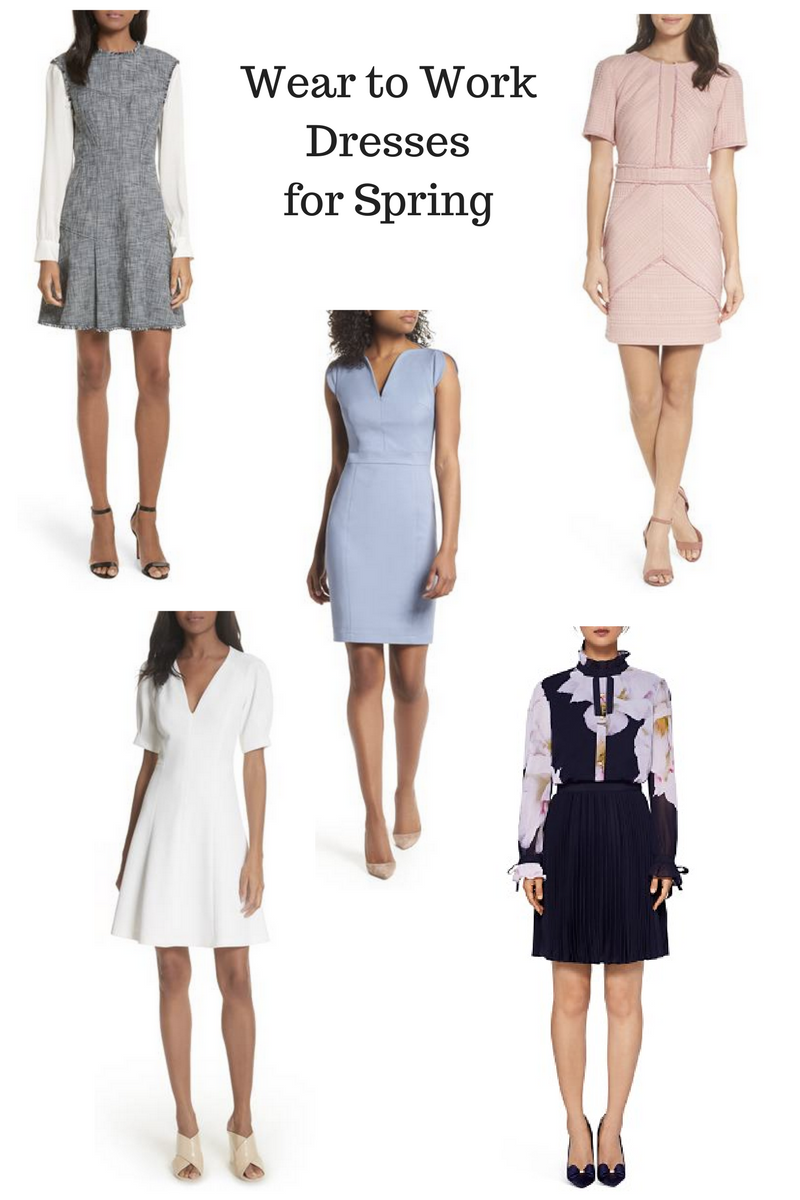 work appropriate spring dresses