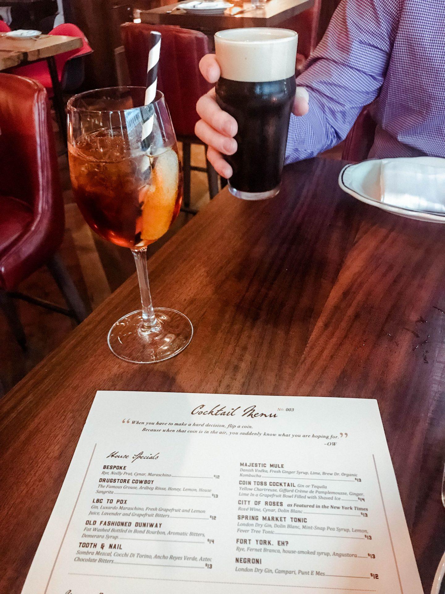cocktail menu jackrabbit restaurant