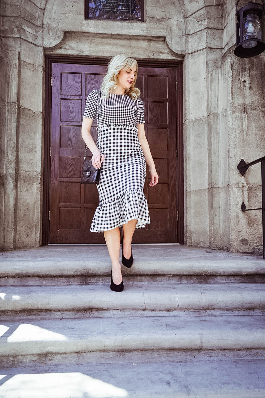 summer fashion trend gingham print