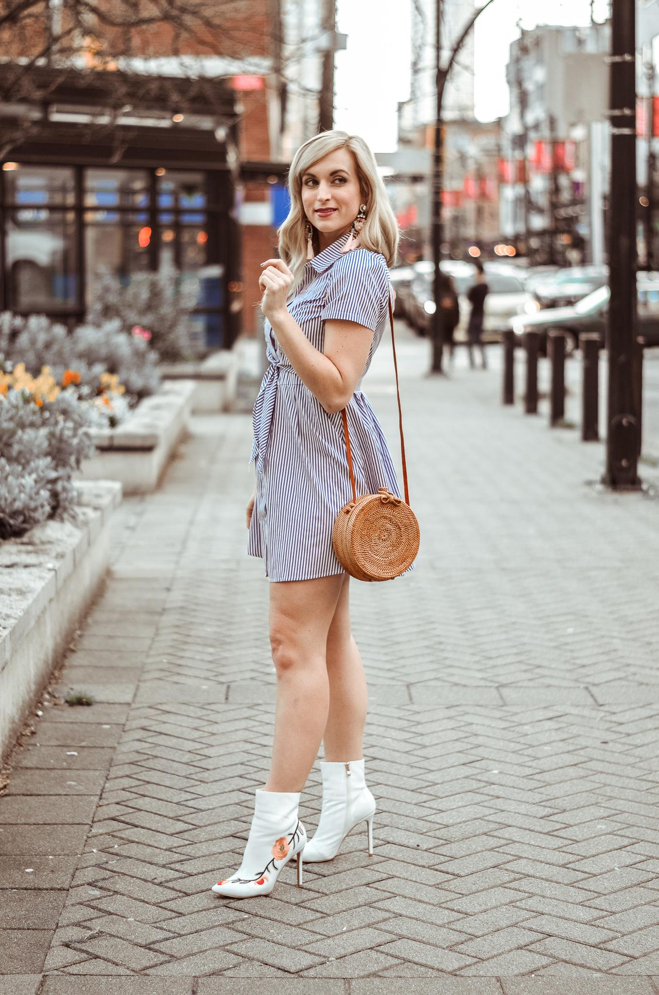 bali harvest rattan round handbag
