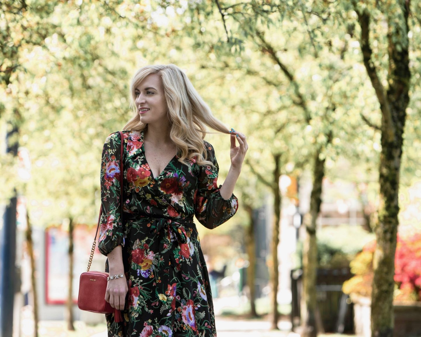 floral wrap dress summer 2018