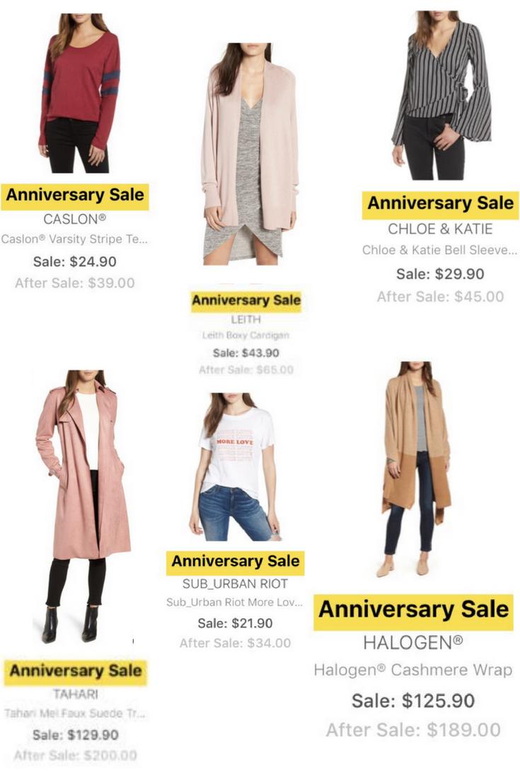 nordstrom anniversary sale sneak peek tops