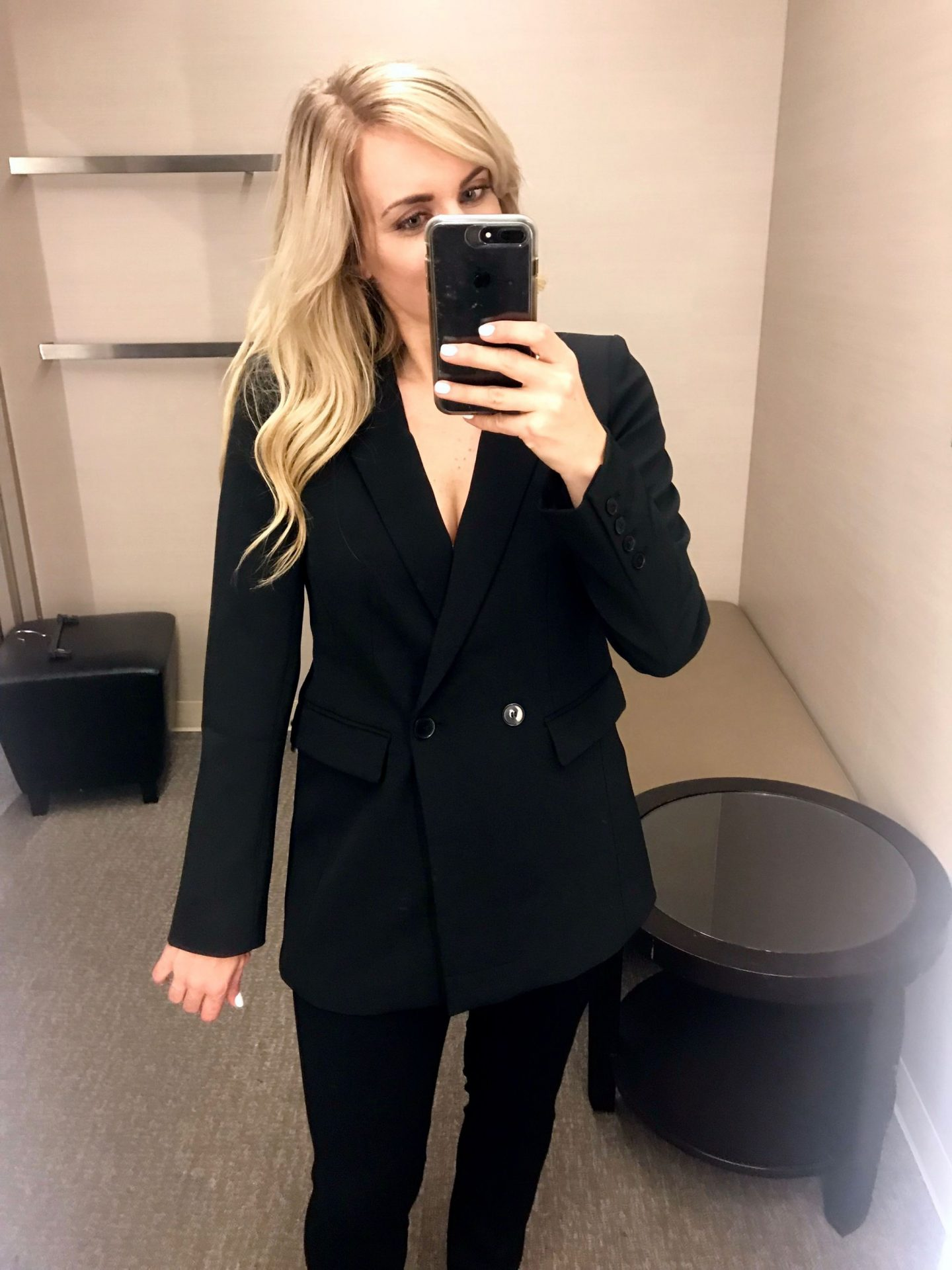 double breasted blazer by halogen