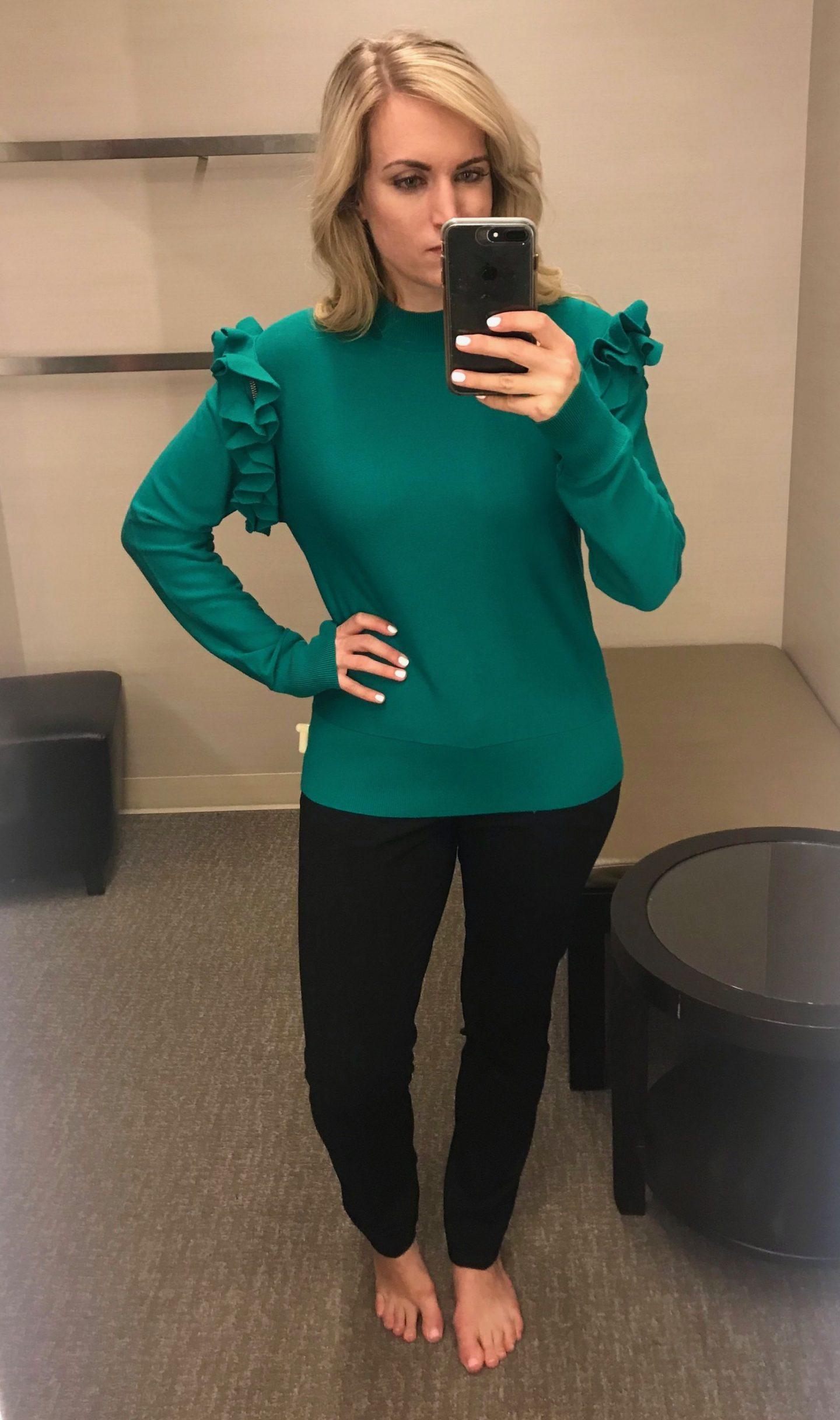 halogen detachable sleeve sweater review