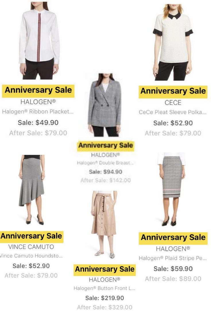 nordstrom anniversary sale sneak peek work wear