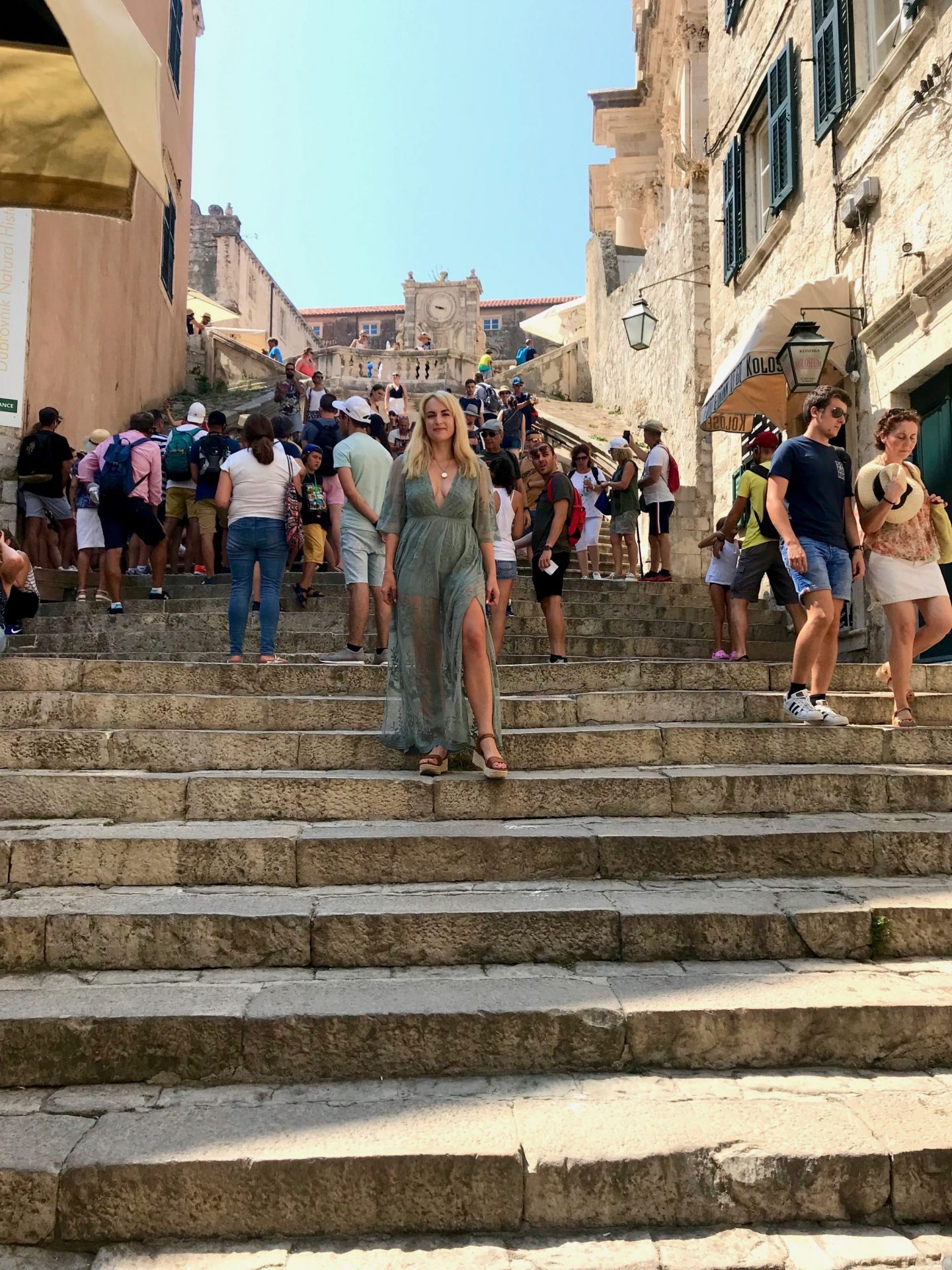 dubrovnik game of thrones scene spots - the walk of atonement shame steps