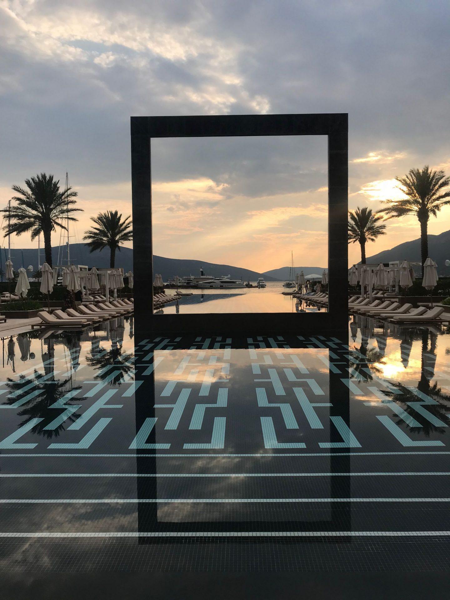 porto montenegro yacht club infinity pool