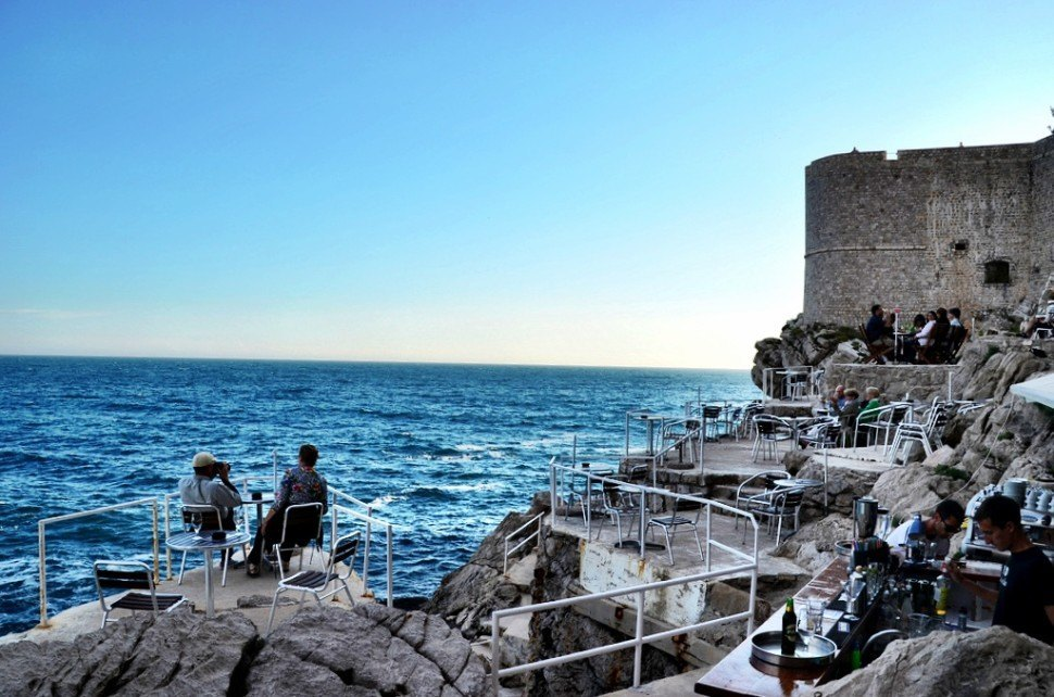 buza bar one of the best things to do in dubrovnik