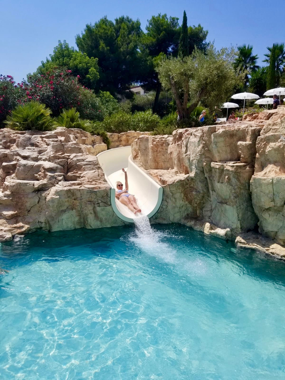 amfora hvar pool waterslide