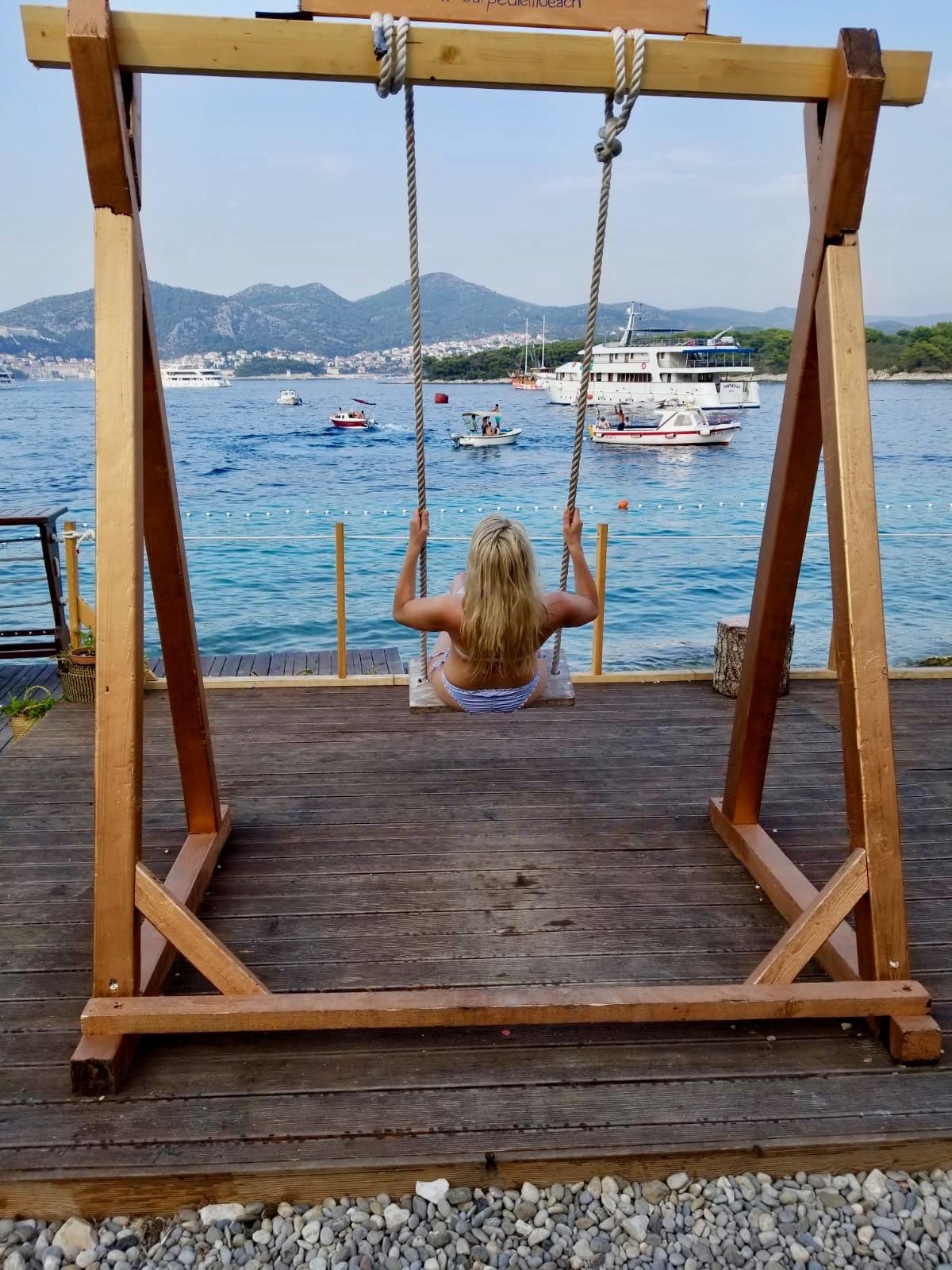 pakleni island swing croatia
