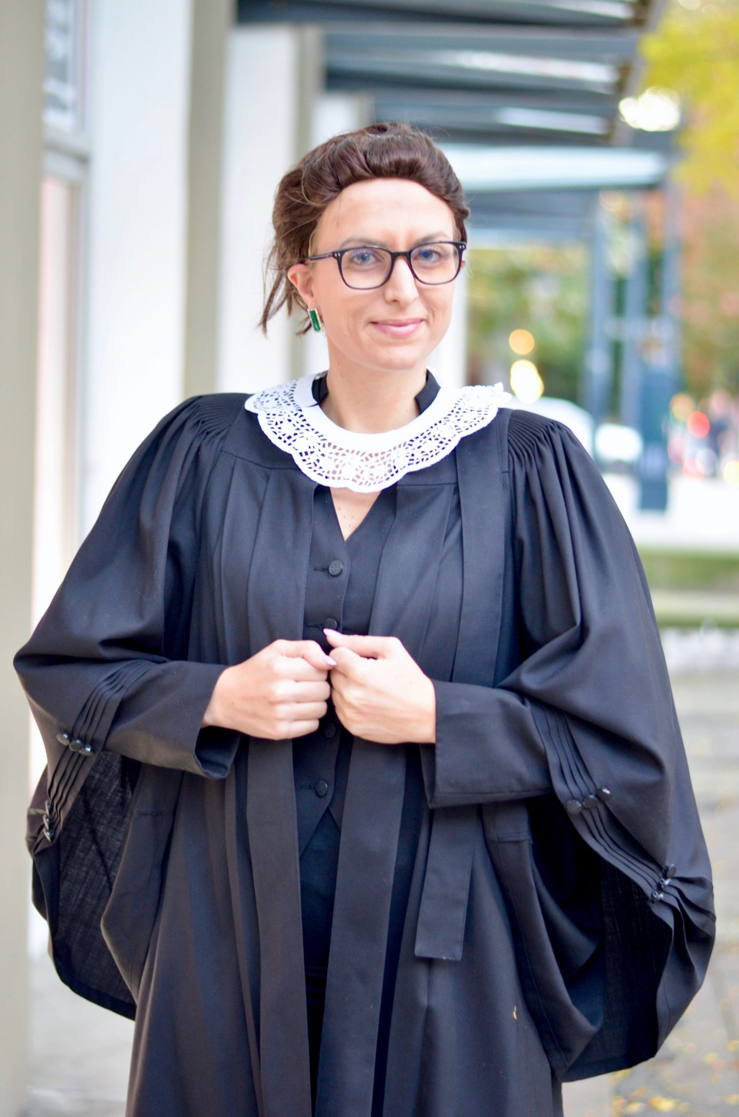 DIY feminist halloween costumes justice ruth bader ginsberg