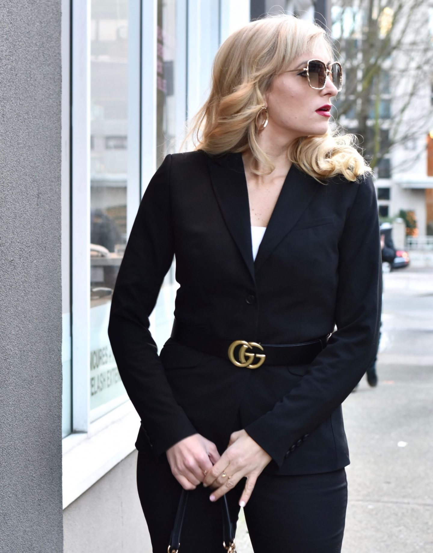 pieces to add to your work day wardrobe this fall / winter gucci dupe belt