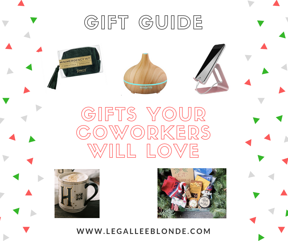 christmas gifts coffee mug, diffuser, phone holder and more. 8 gifts your coworkers will love