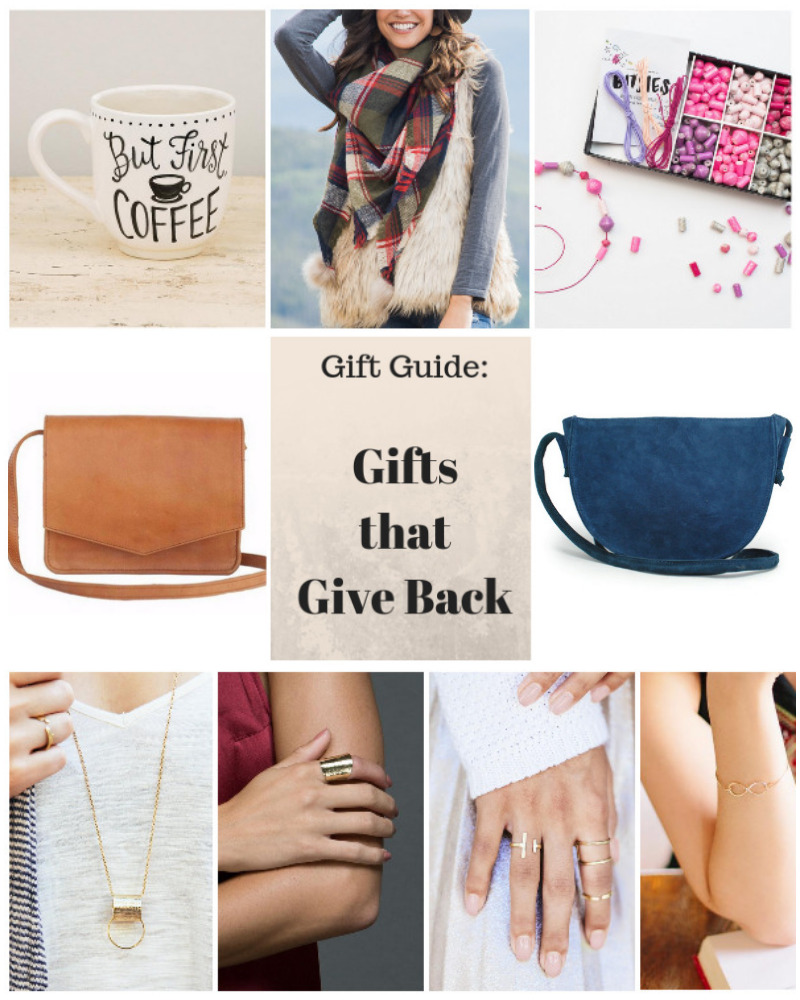 collage-of-gifts-that-give-back-coffee-mug-scarf-purses-jewelry