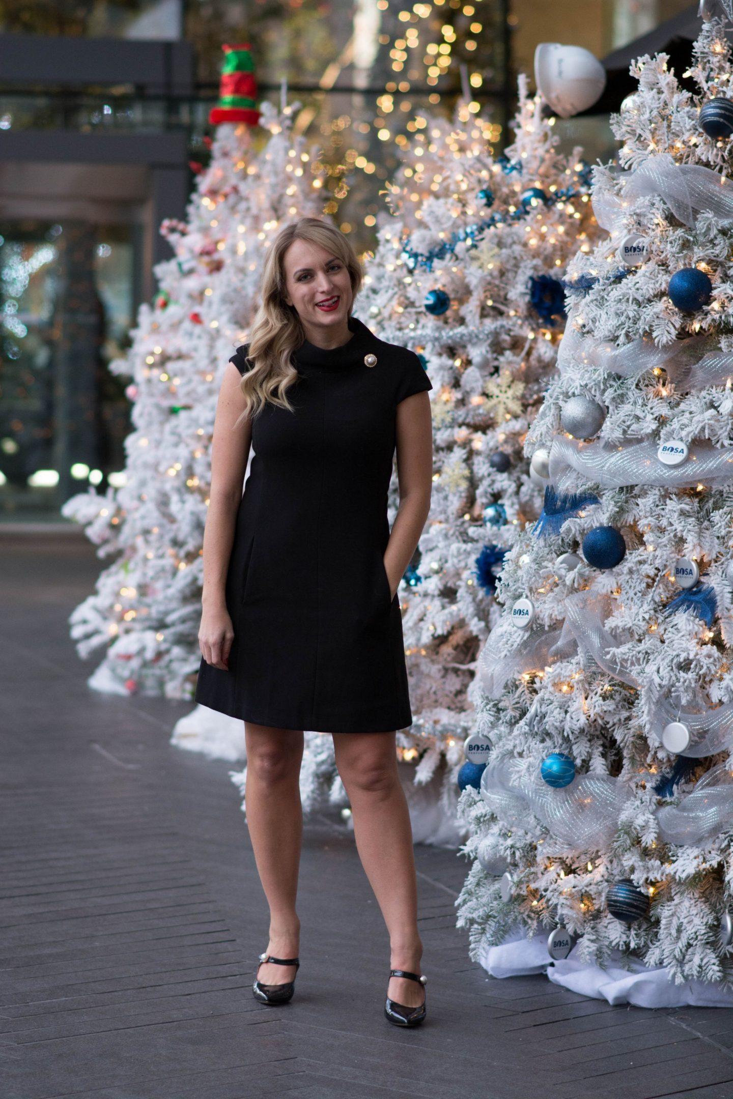 blonde-wearing-pearl-detail-harper-rose-dress