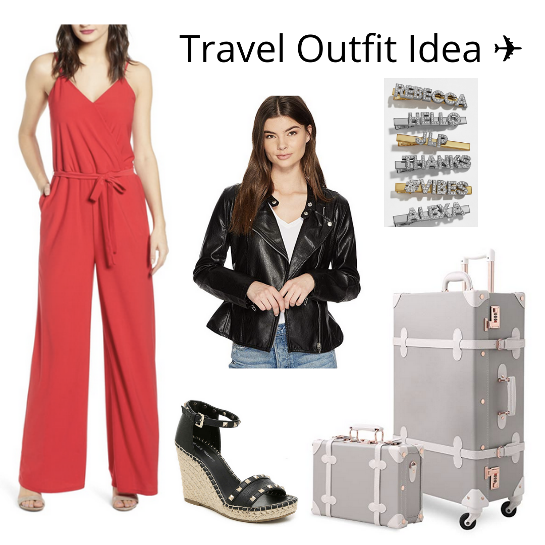 comfortable and chic travel outfits