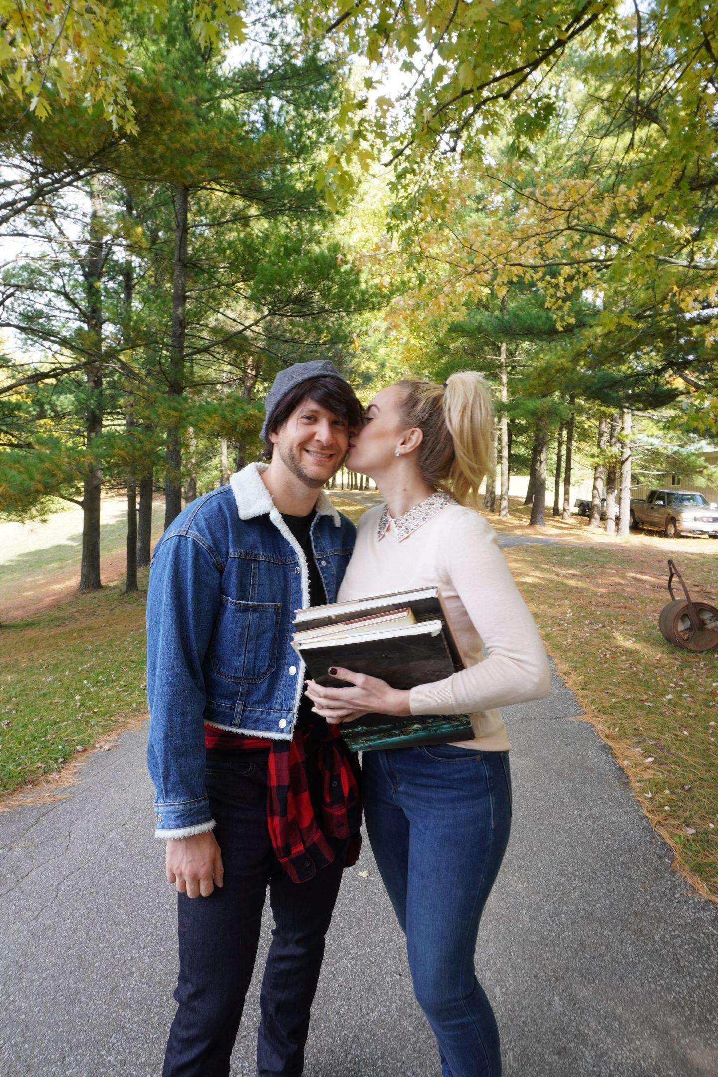 betty and jughead couples halloween costume idea