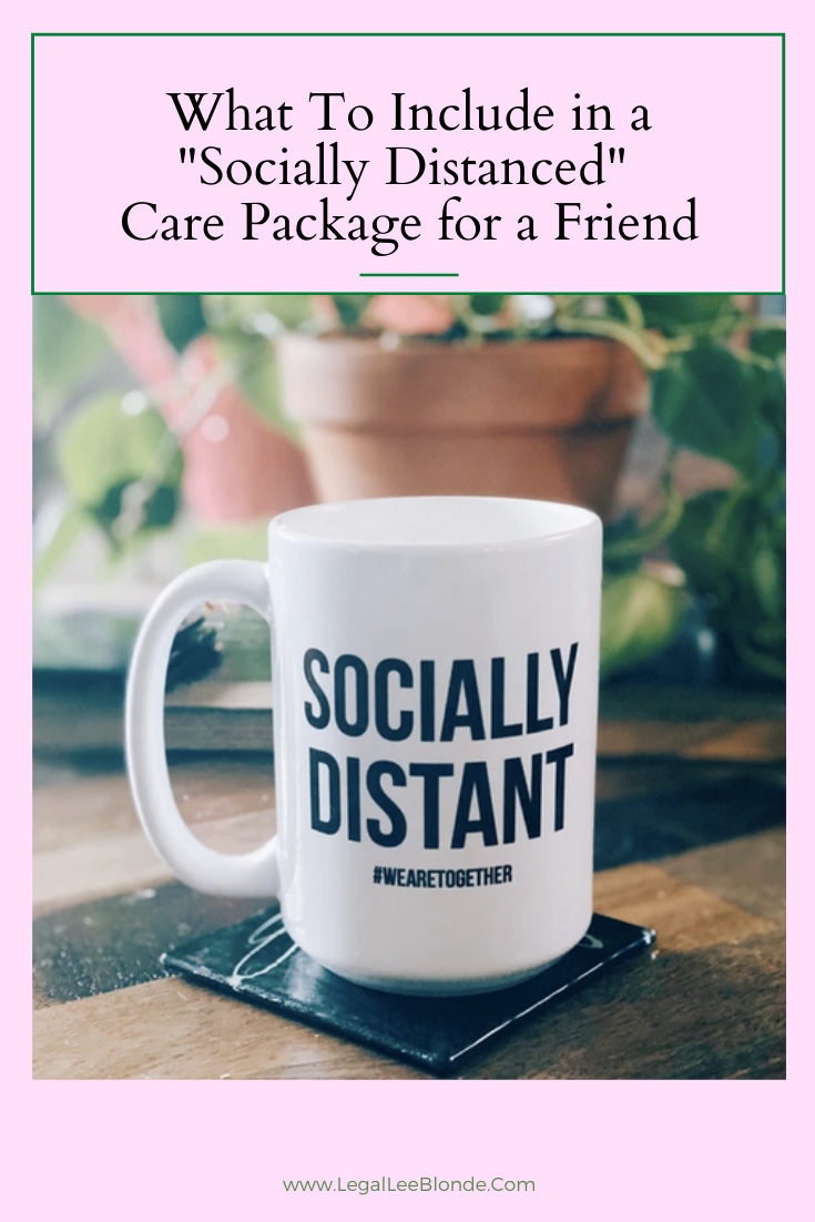 socially distanced care package gift idea