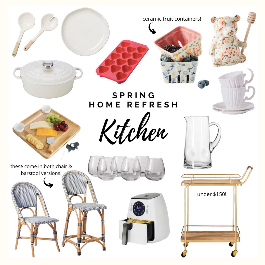 spring home decor kitchen