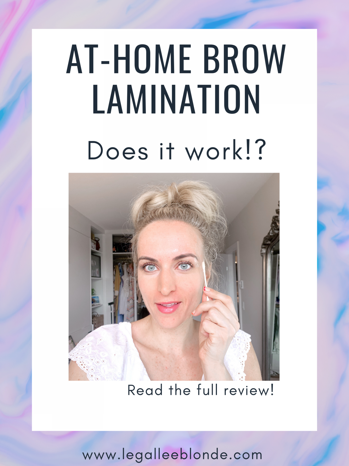 at home brow lamination kit review