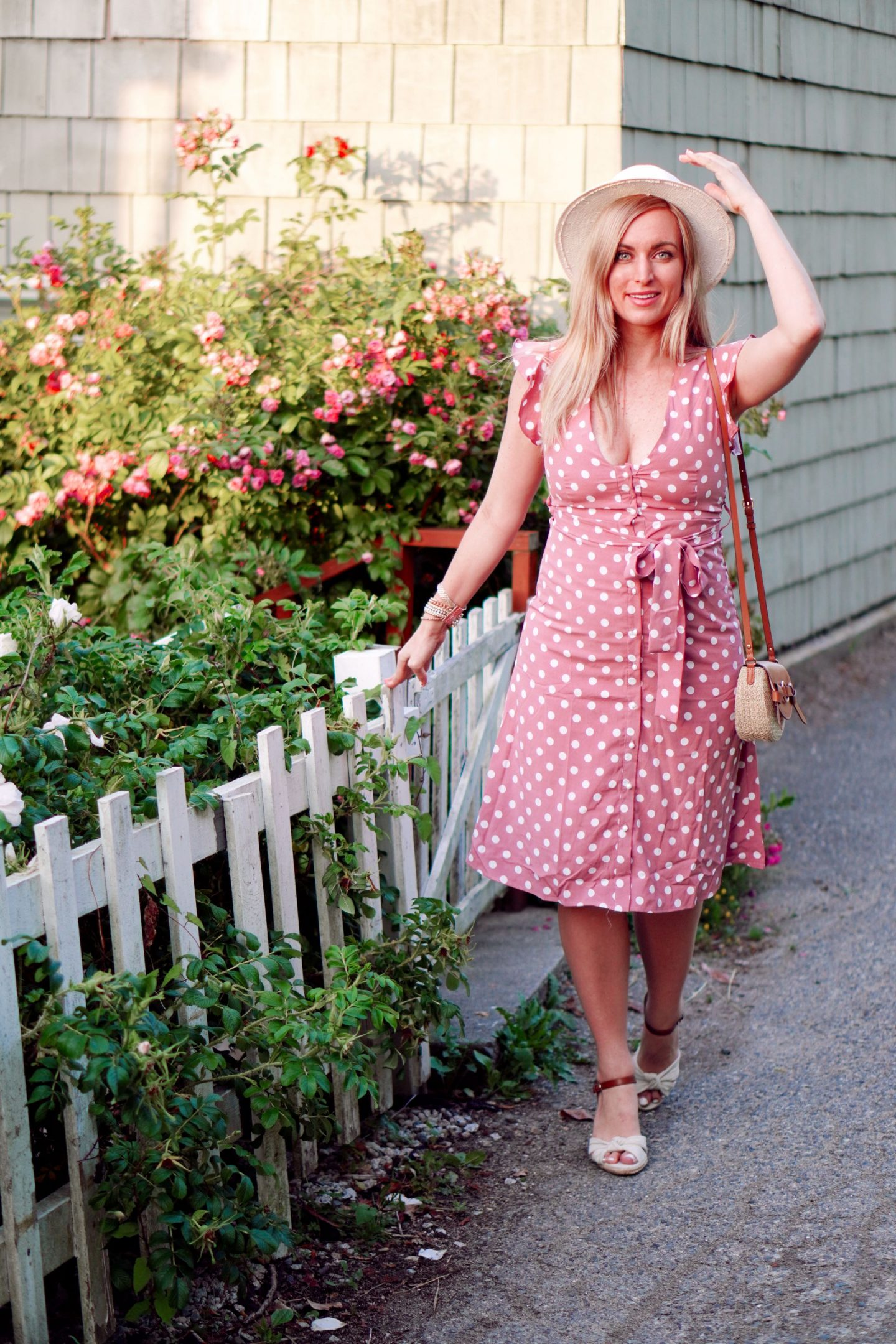 affordable polka dot midi dress dreses under $30