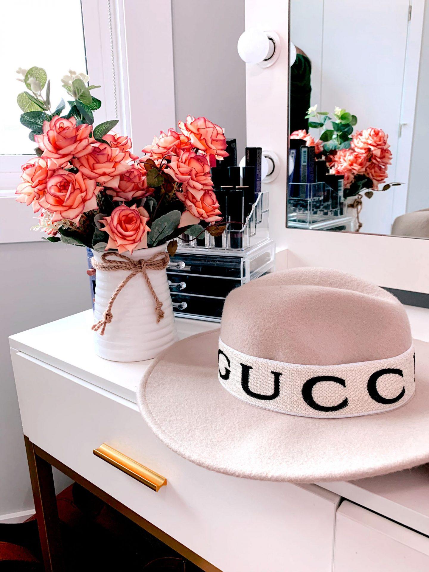 designer dupes gucci inspired hat