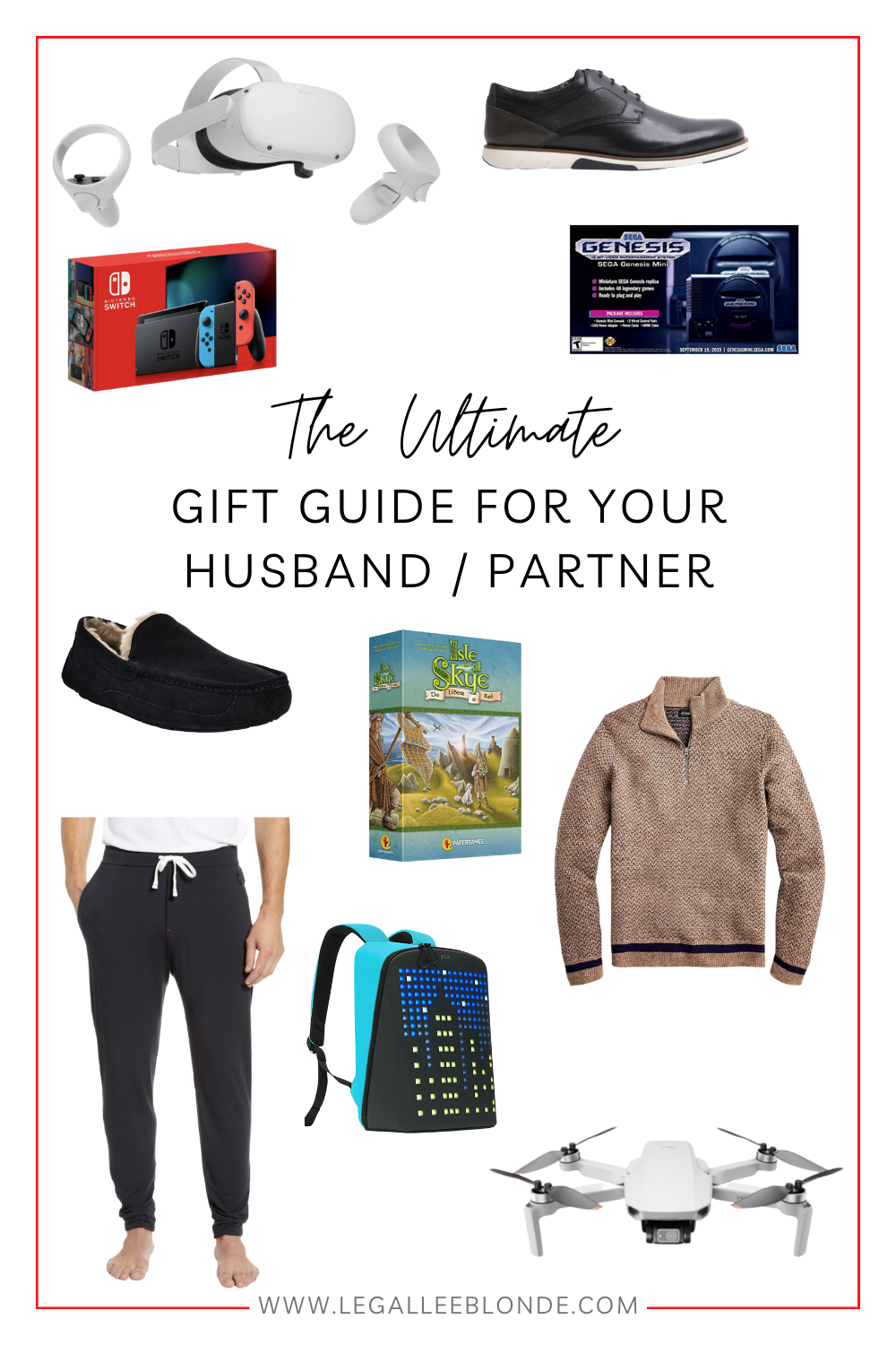 gift guide for your husband collage