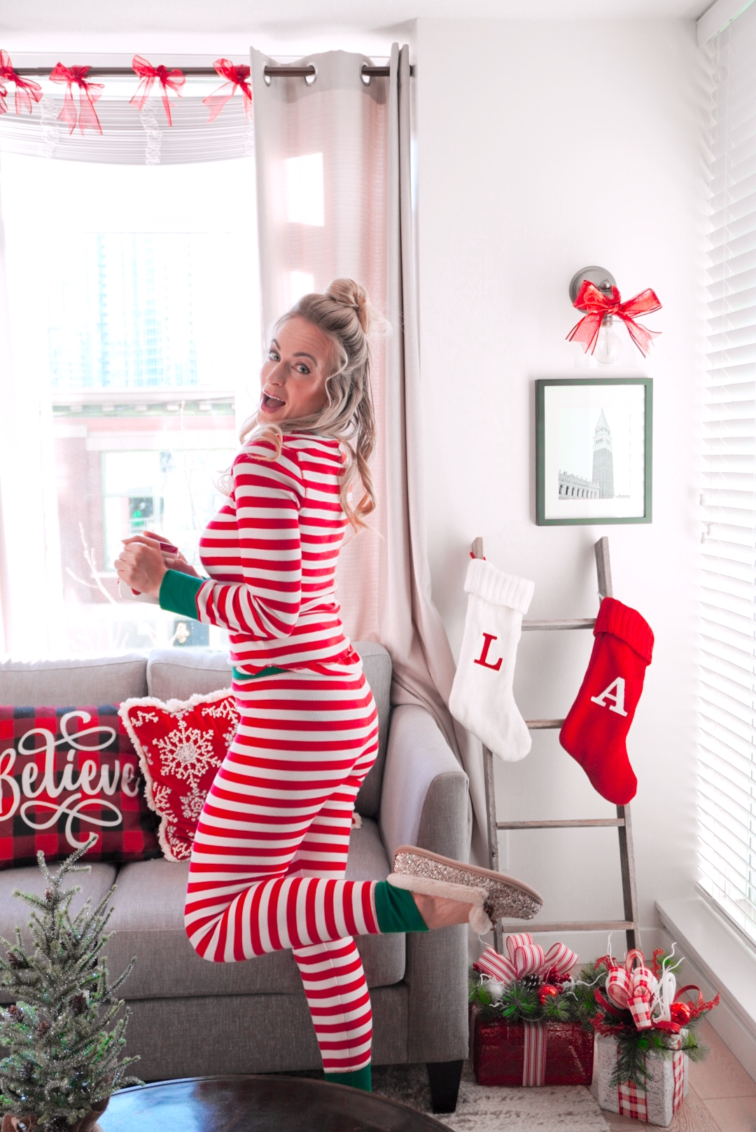 best chistmas pajamas of 2020 legallee blonde fashion blogger review