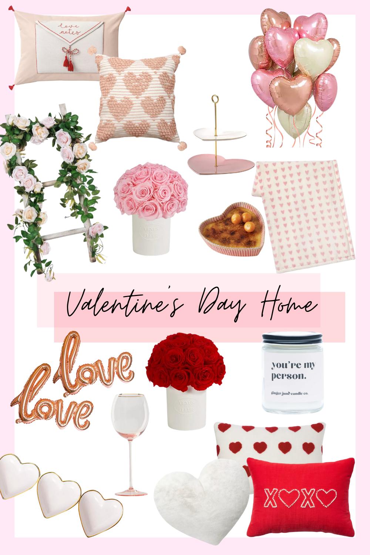 collage valentine's day home decor