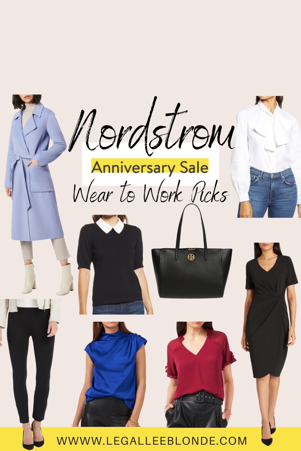 collage nordstrom anniversary sale wear to work items