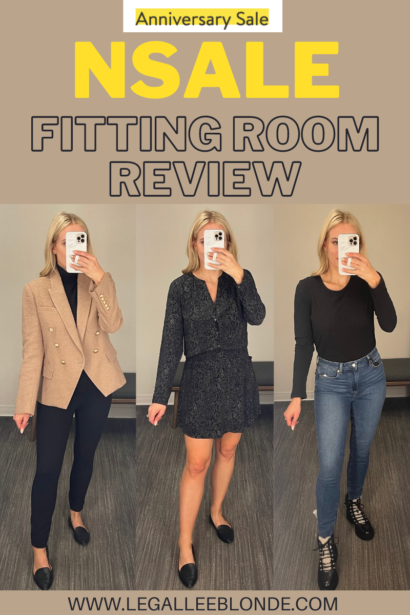 legalleeblonde collage Fitting Room Review - Nordstrom Anniversary Sale