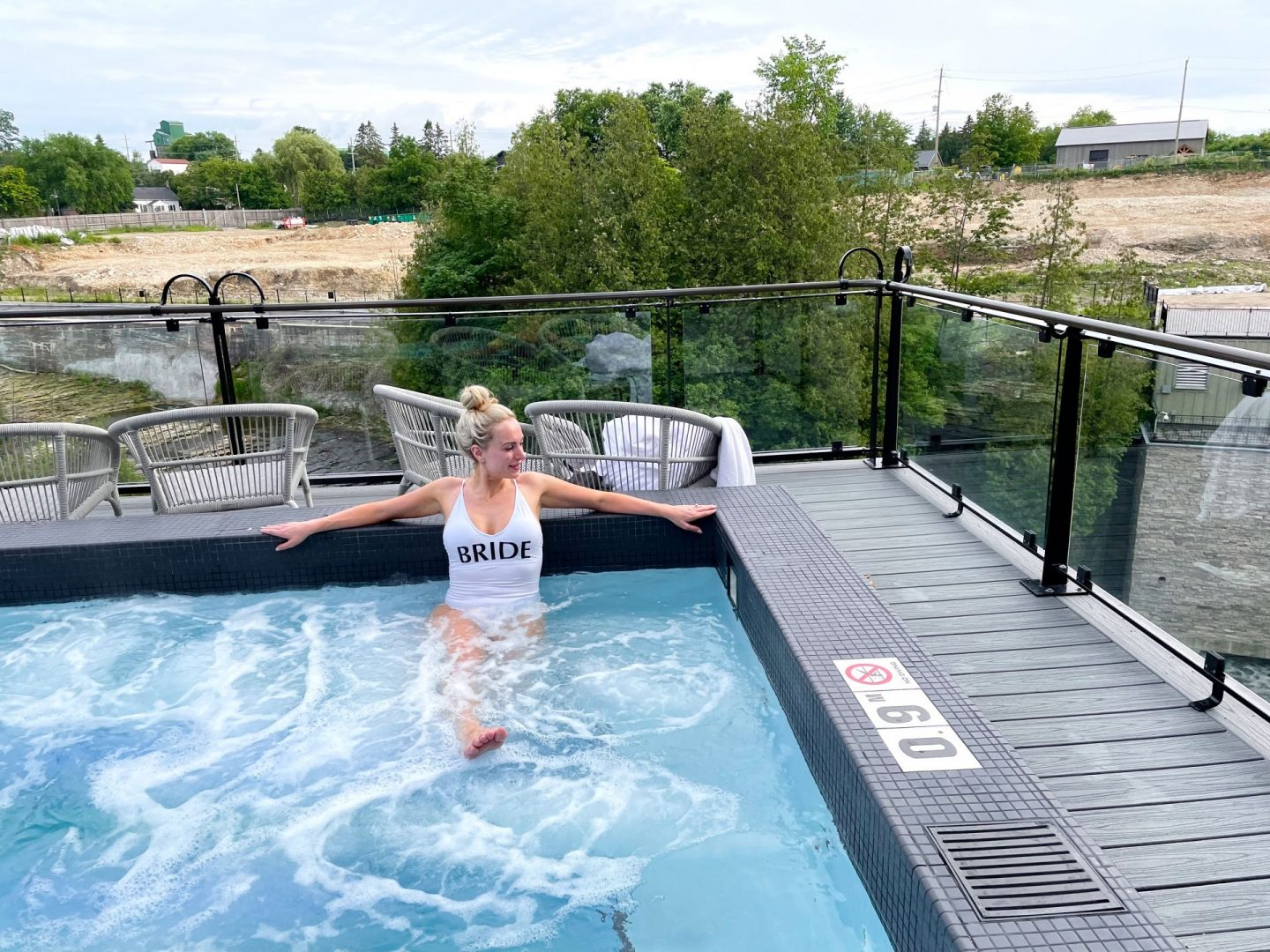 elora mill hotel pool review